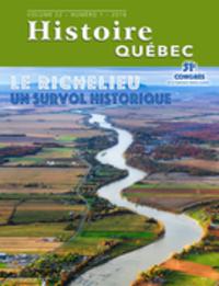 Histoire Québec. Vol. 22 No. 1,  2016