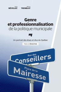 Genre et professionnalisation de la politique municipale