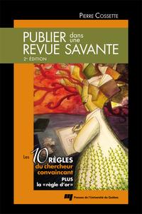 Publier dans une revue savante, 2e édition