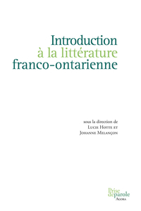 Introduction à la littérature franco-ontarienne