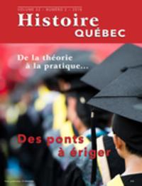 Histoire Québec. Vol. 22 No. 2,  2016