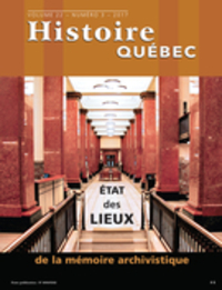 Image de couverture (Histoire Québec. Vol. 22 No. 3,  2017)