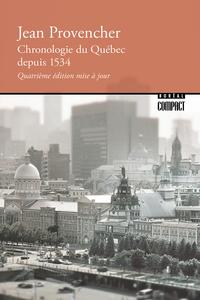 Chronologie du Québec depui...