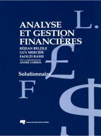 Analyse et gestion financières