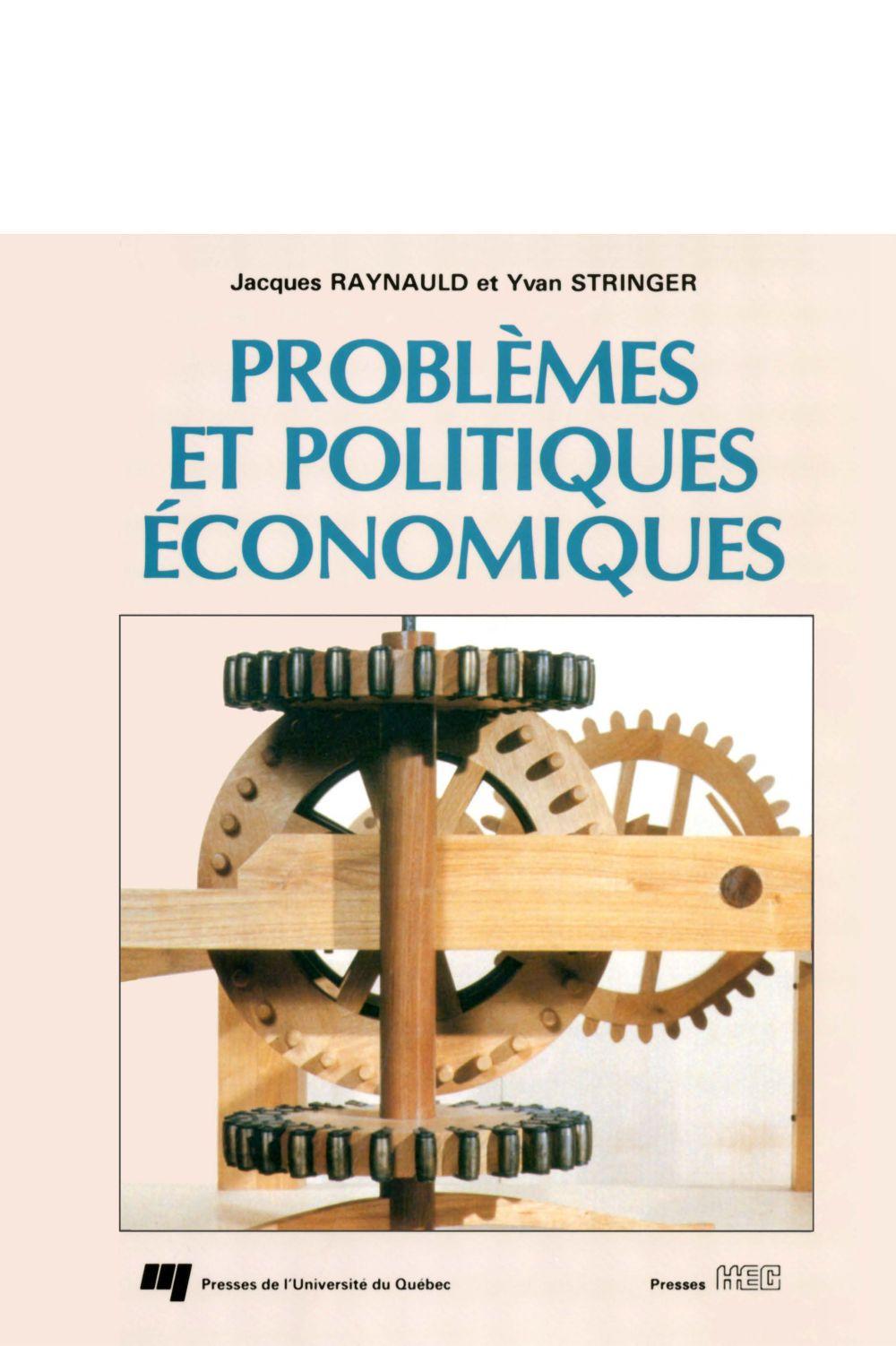 Problèmes et politiques économiques