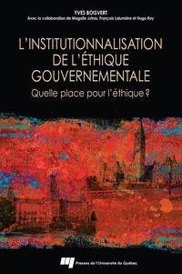 L'institutionnalisation de ...