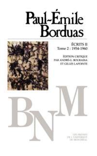 Écrits II: Correspondance (1954-1960), T. 2