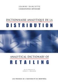 Dictionnaire analytique de ...