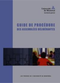 Guide de procédure des assemblées délibérantes