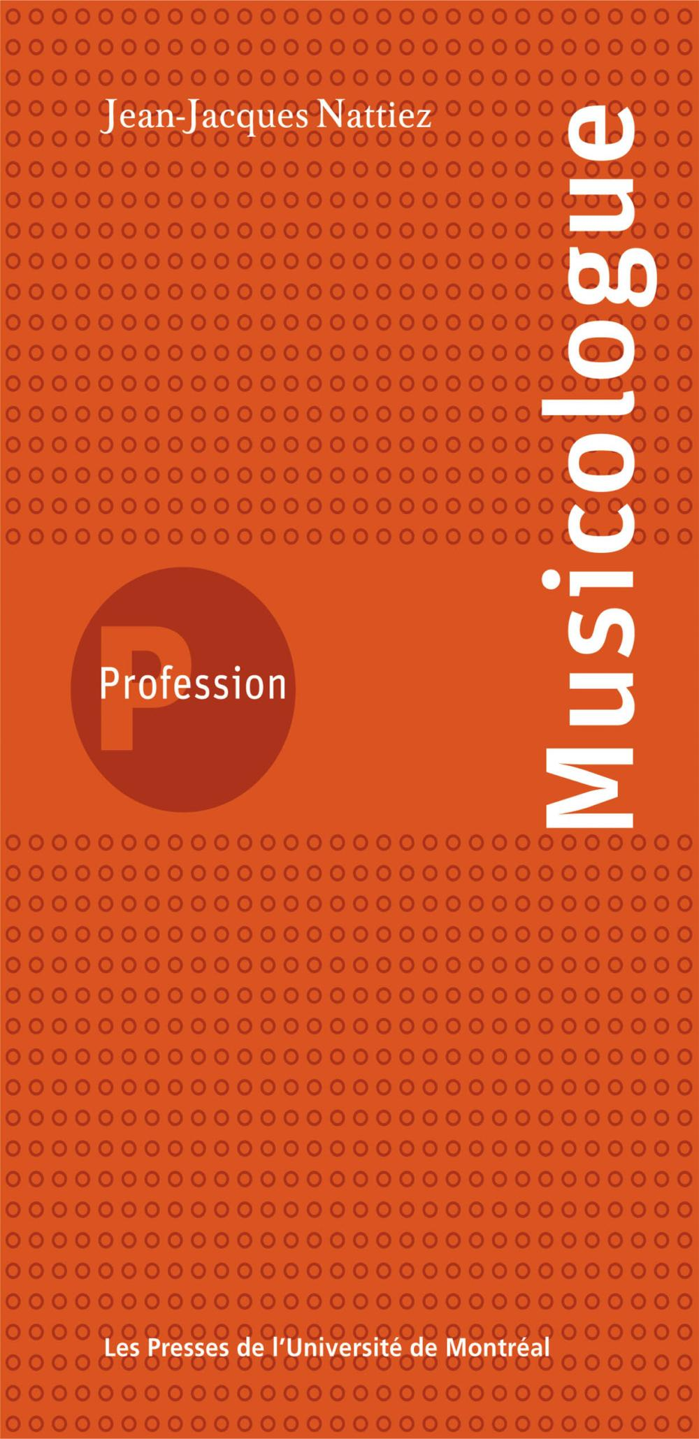 PROFESSION MUSICOLOGUE
