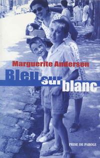 Bleu sur blanc