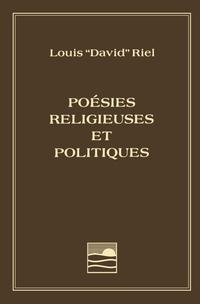 Image de couverture (Louis Riel - Poésies religieuses et politiques)