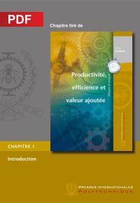 Productivité, efficience et...