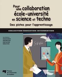 Pour une collaboration école-université en science et techno
