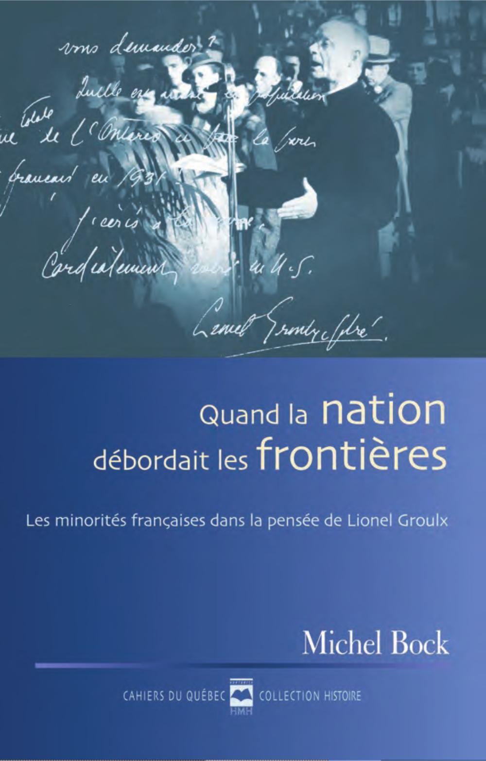 QUAND LA NATION DEBORDAIT LES FRONTIERES