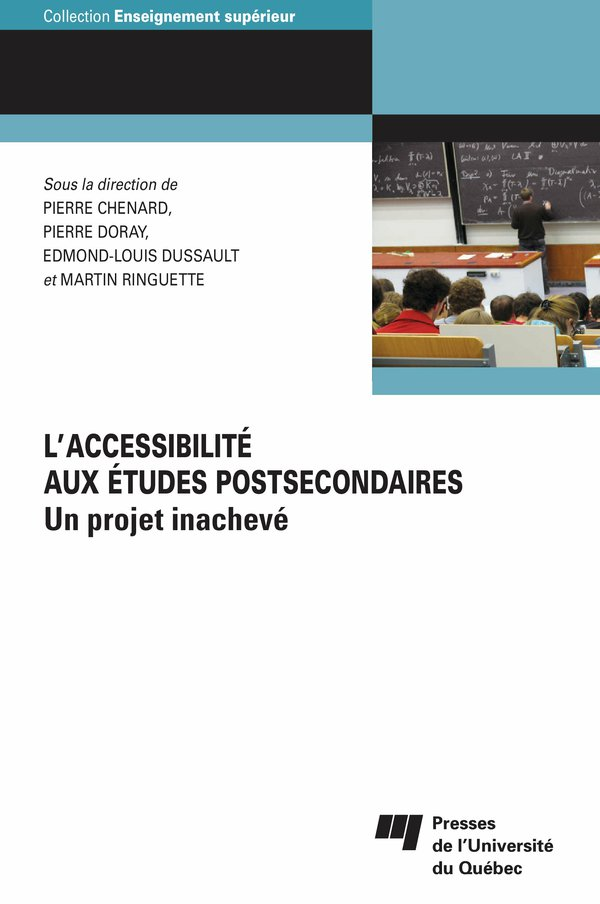 L' accessibilité aux études postsecondaires