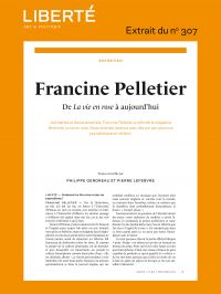 Revue Liberté  307 - Entret...
