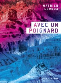 Book cover of Avec un poignard.