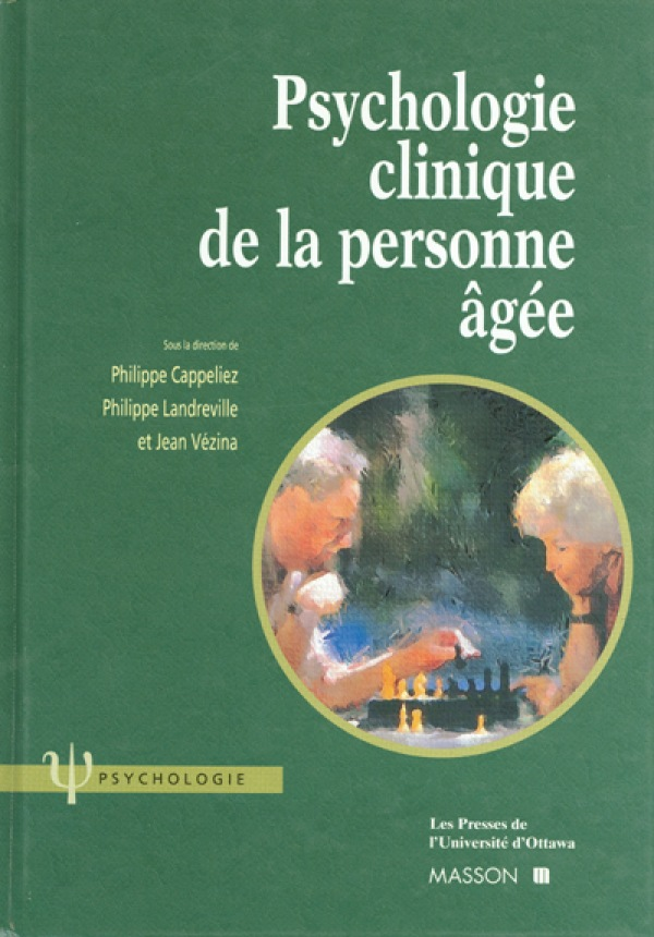Psychologie clinique de la ...