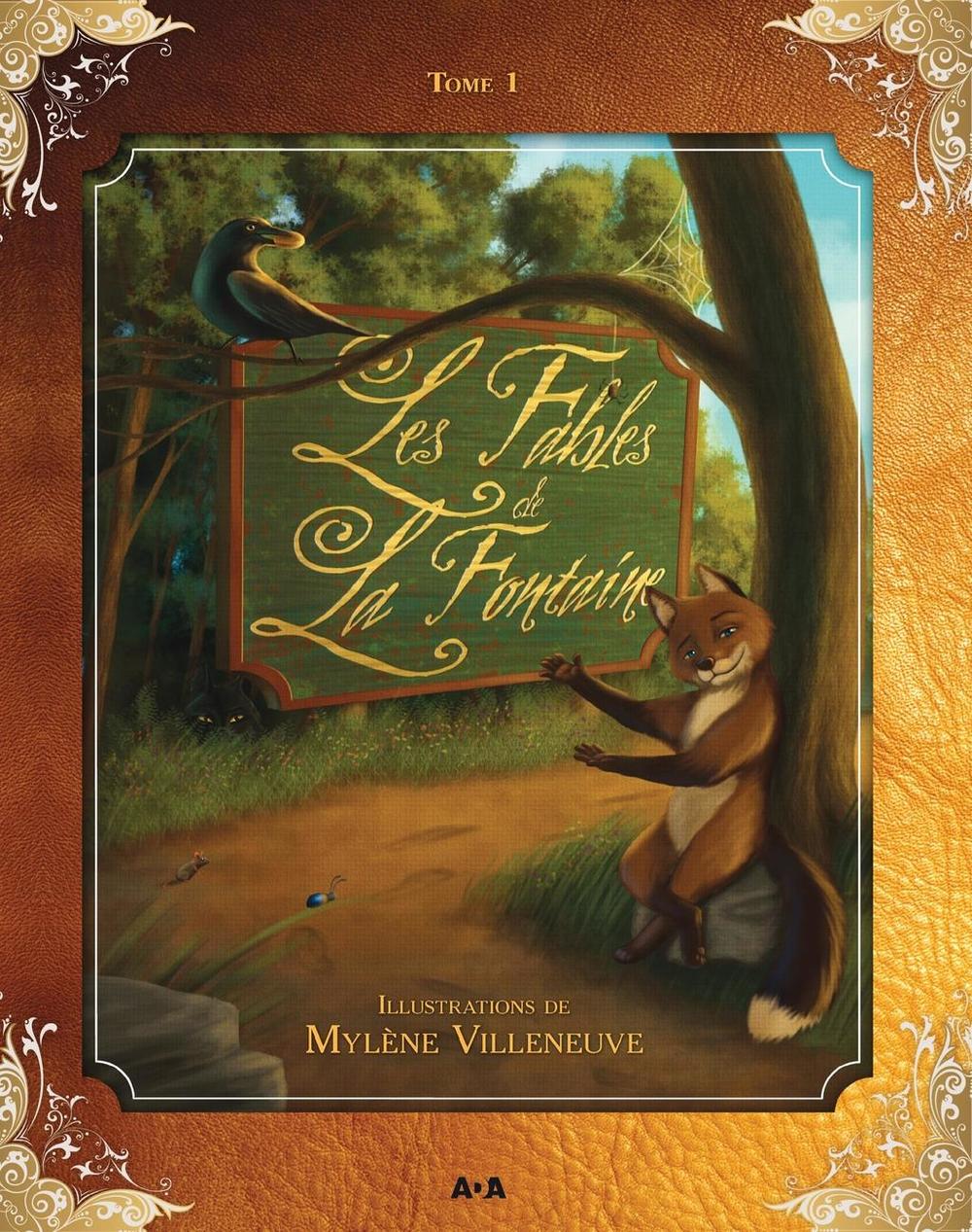 Vignette du livre Fables de la Fontaine (Les) T.1 --- ÉPUISÉ, NON DISPONIBLE----
