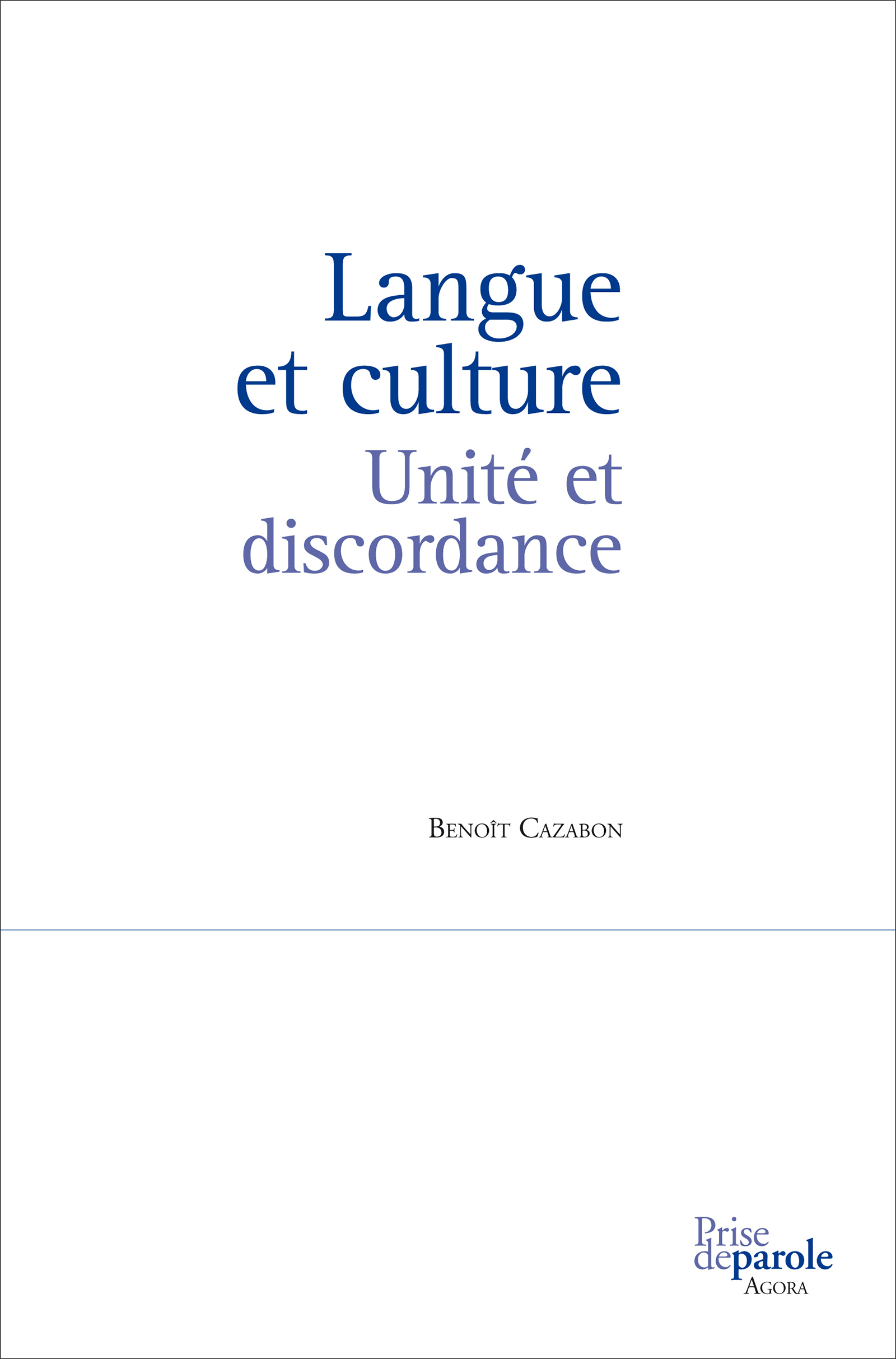 Langue et culture