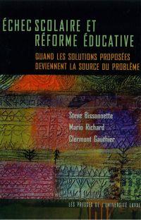 Echec scolaire et réforme éducative