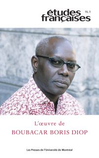 Études françaises. Vol. 55 ...
