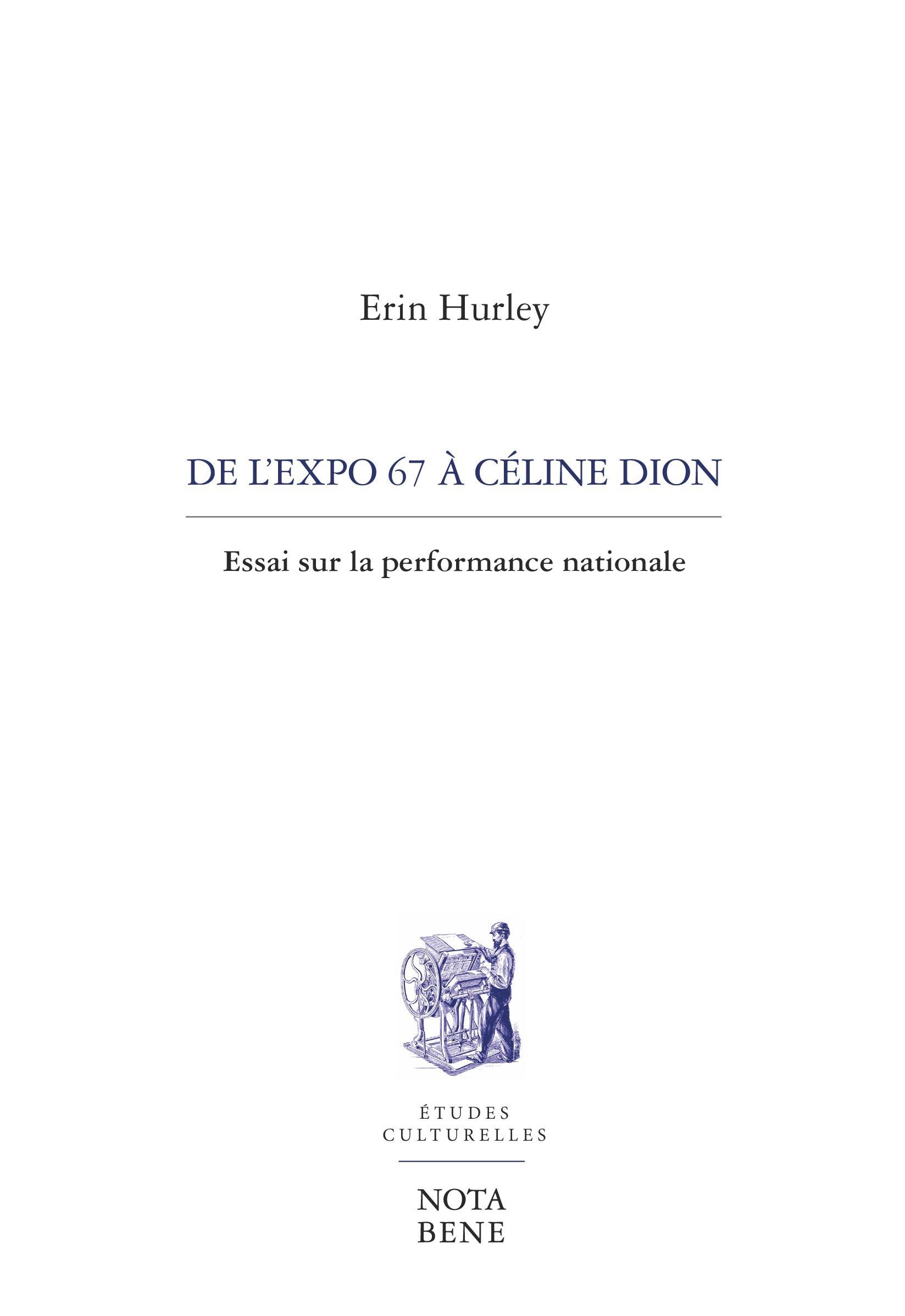 De l'Expo 67 à Céline Dion