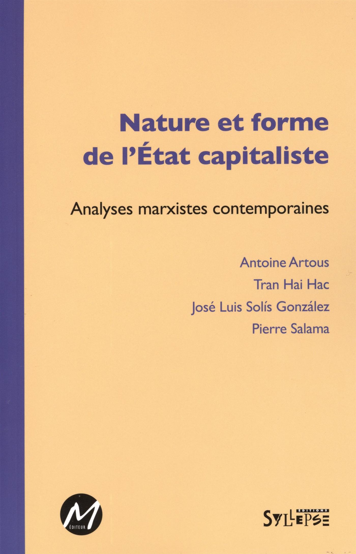 Nature et forme de l'Etat capitaliste