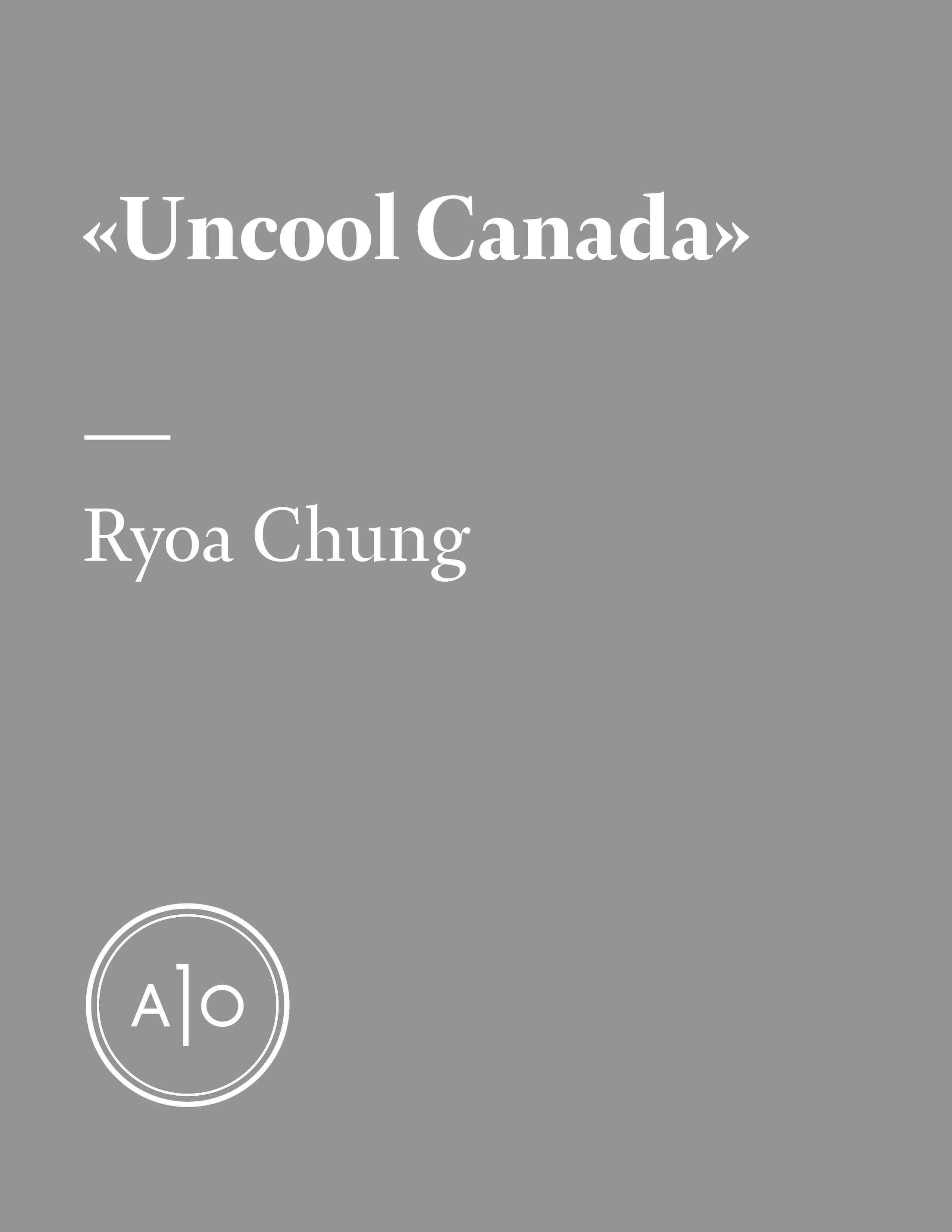 «Uncool Canada»: ou comment...