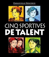 Image de couverture (Cinq sportives de talent)