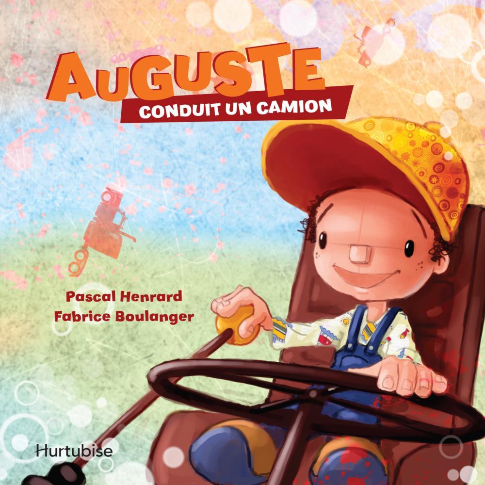 Auguste conduit un camion