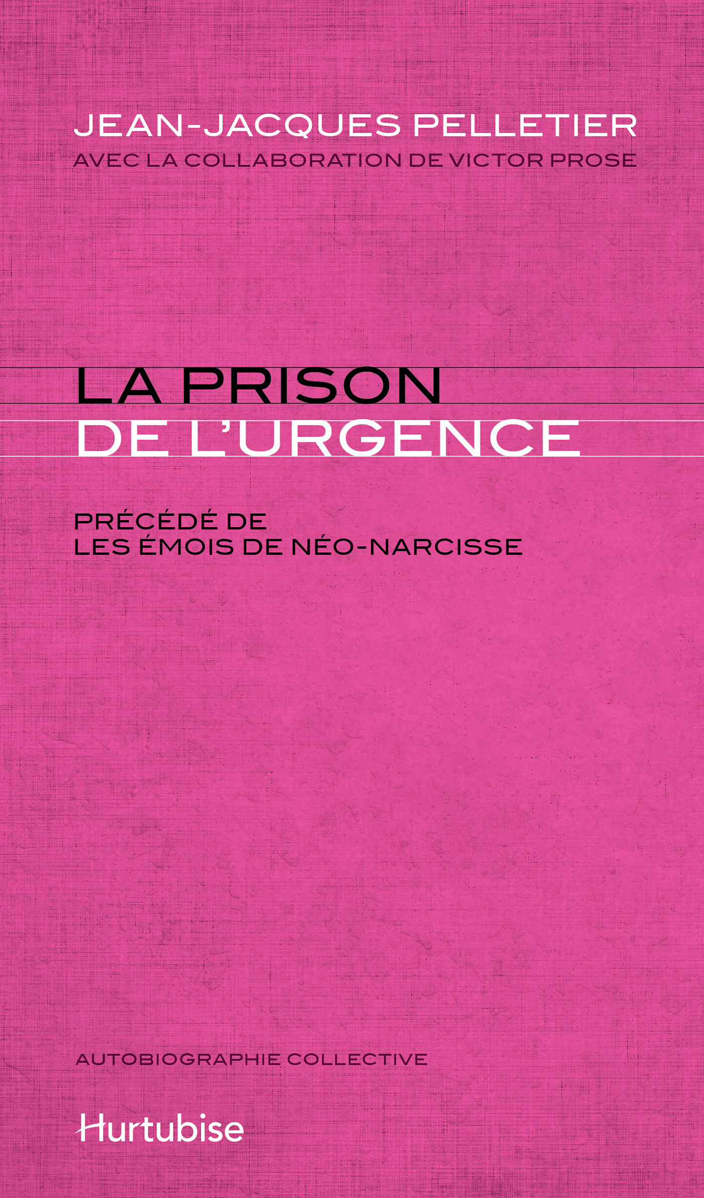 La prison de l'urgence : le...