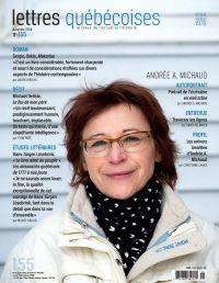 Lettres québécoises. No. 15...