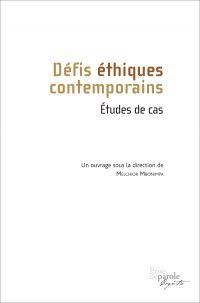 Image de couverture (Défis éthiques contemporains. Études de cas)