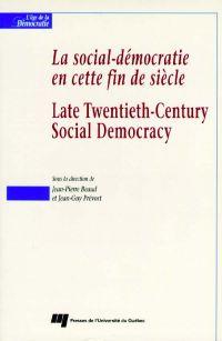 La social-démocratie en cet...