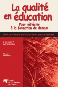 Qualité en éducation
