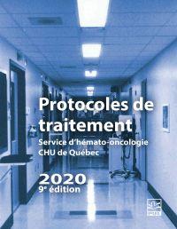 Image de couverture (Protocoles de traitement. Service d'hémato-oncologie HDQ-HDL  2020 (9e édition))