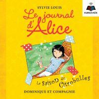 Image de couverture (Le journal d'Alice tome 5. La saison du citrobulles)