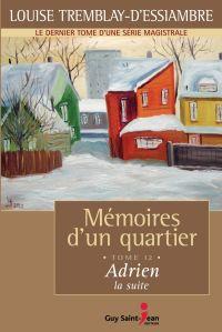 Cover image (Mémoires d'un quartier, tome 12: Adrien, la suite)