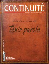 Continuité. No. 137, Été 2013