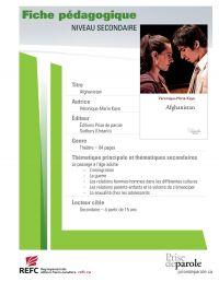 Image de couverture (Afghanistan - fiche pédagogique)