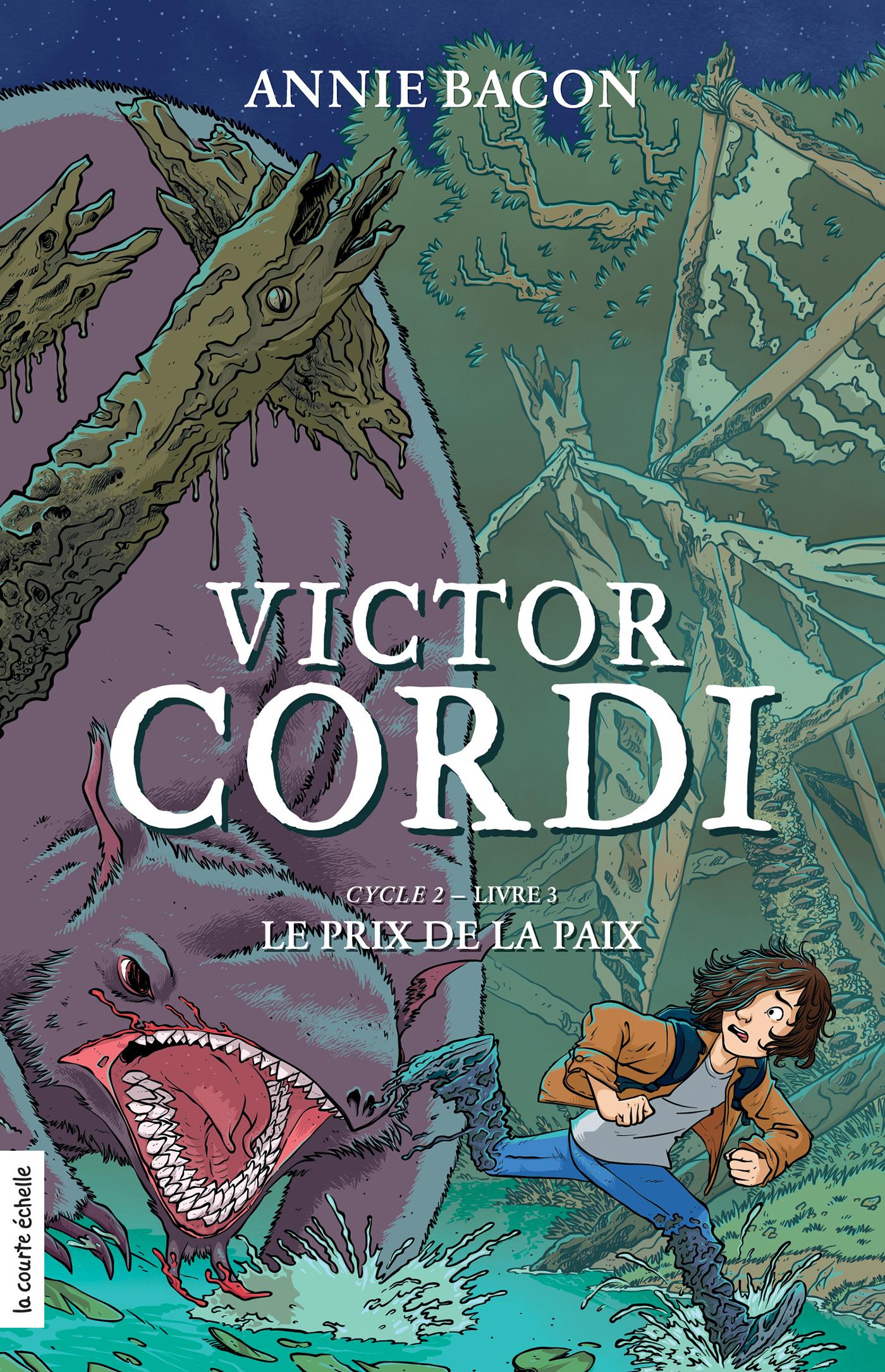 Le prix de la paix, Victor Cordi, cycle 2, livre 3