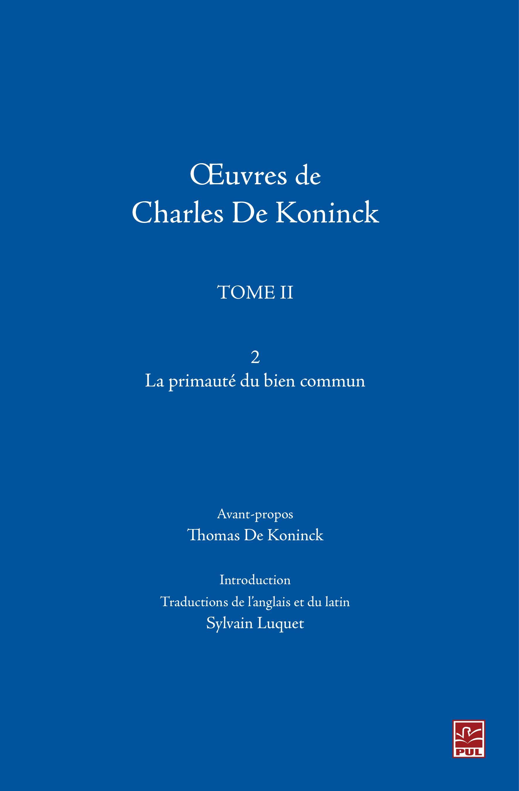 Oeuvres de Charles De Konin...