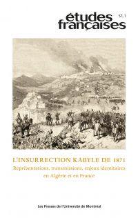 Études françaises. Vol. 57 ...