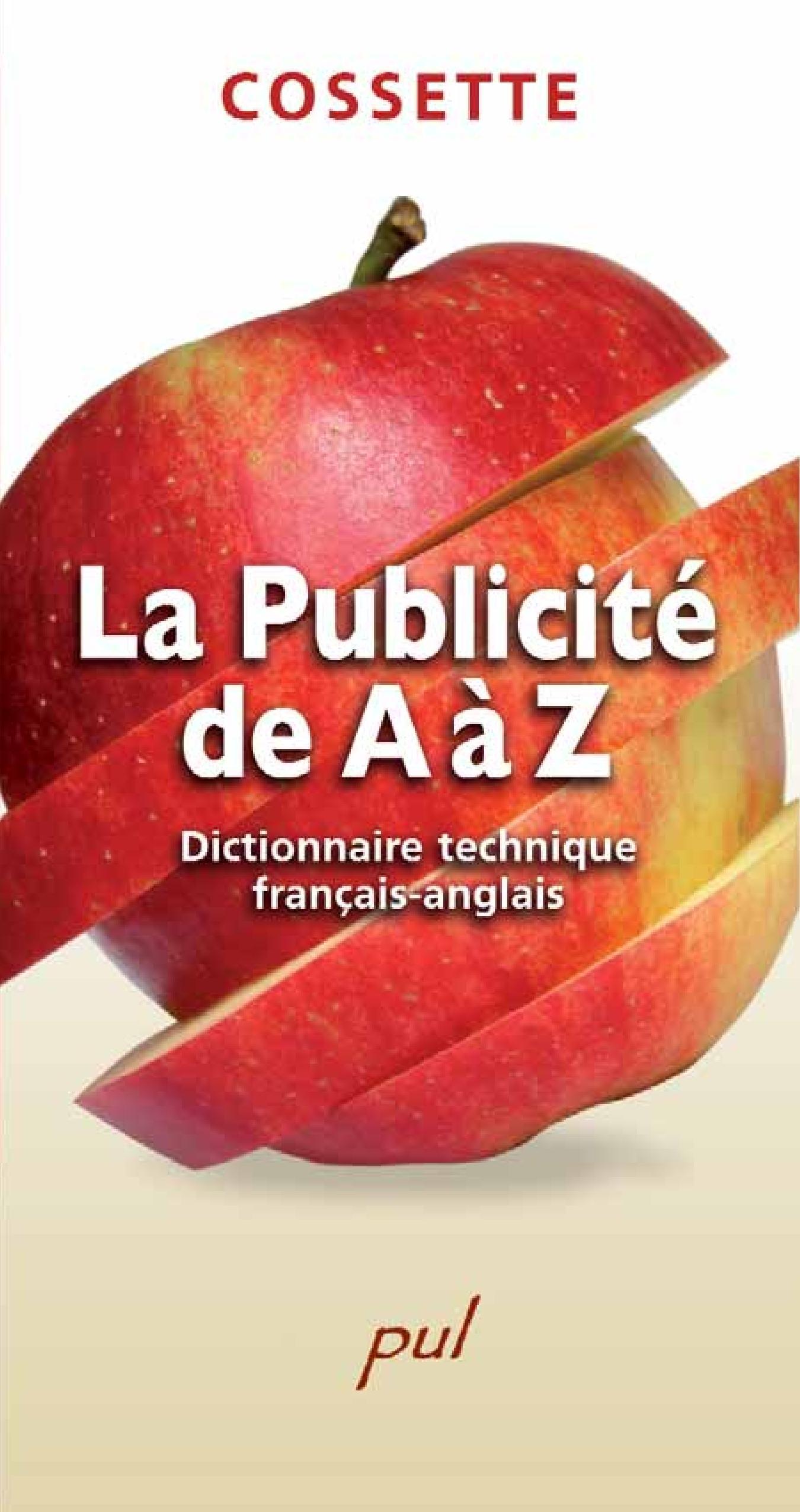 La Publicité de A à Z