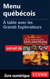 Menu québécois - À table av...