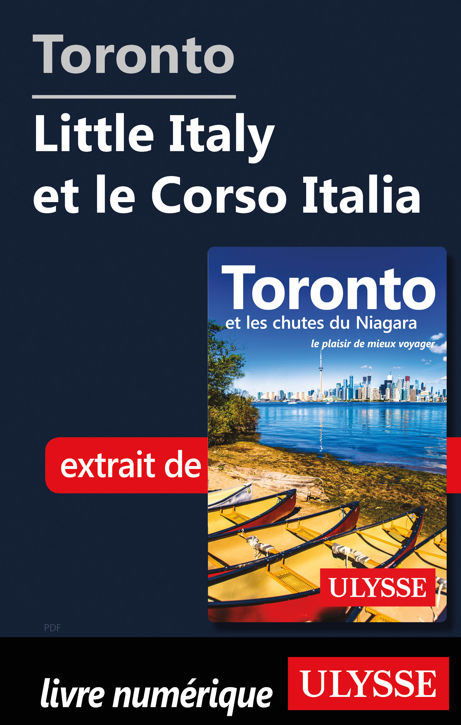 Toronto - Little Italy et l...