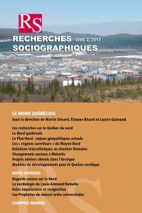 Recherches sociographiques....