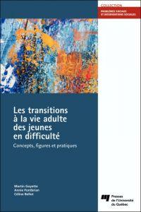 Image de couverture (Les transitions à la vie adulte des jeunes en difficulté)